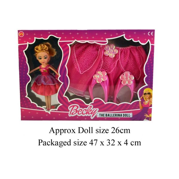 Becky The Ballet Doll (with Dress Up)