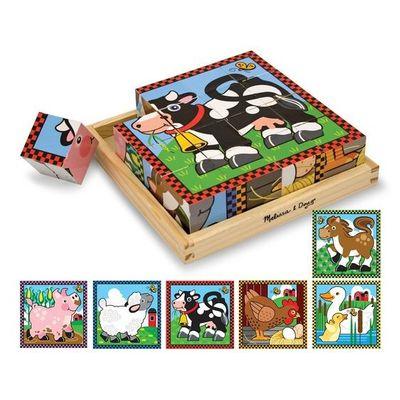 Cube Farm Puzzle