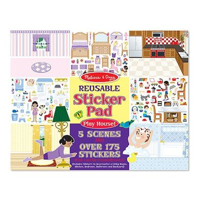 Play House Sticker Book