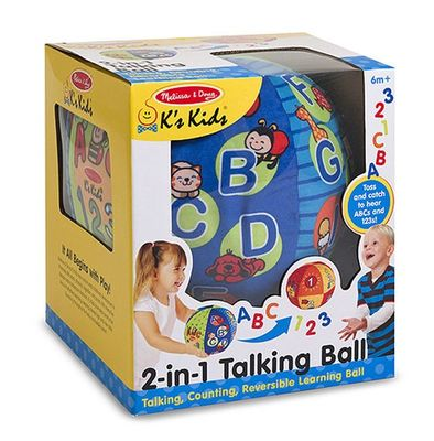 Talking ball learning toy
