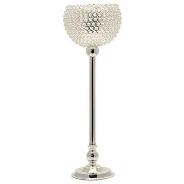 Crystal Globe Candle Holder