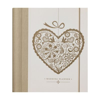 Gold Heart Wedding Planner