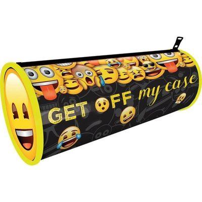 Emoji Barrel Pencil Case