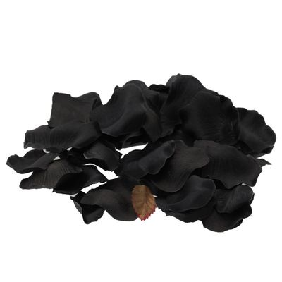 Black Rose Petal Confetti
