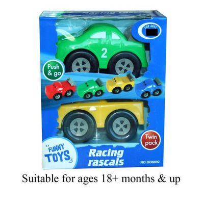 2pcs Racing Car  2 Asstd  by AtoZ Toys