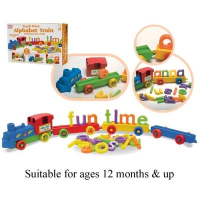Abc Train Set Med  by AtoZ Toys