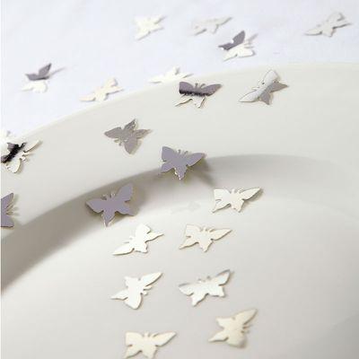Silver Butterfly Confetti