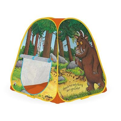 Gruffalo Pop Up Play Tent      91 X 81 X 81cm In Carrybag