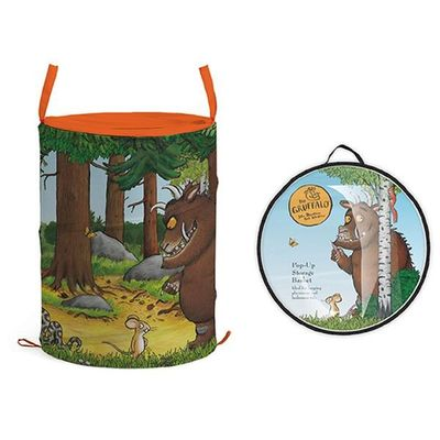 Gruffalo Large Pop Up Storage  Tube In Polybag With Header