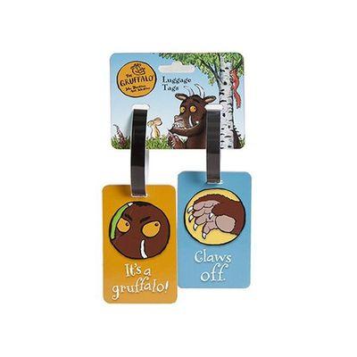 Gruffalo Luggage Tag 2 Piece Set  On Header Card