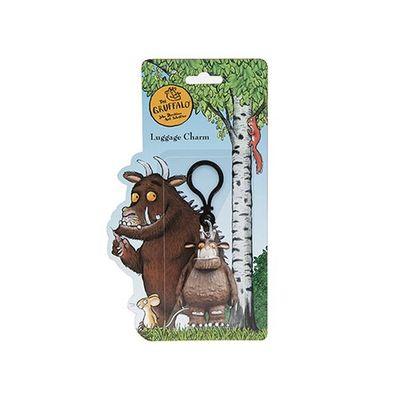 Gruffalo Luggage Charm/ B/pack Clip-on Blister Card