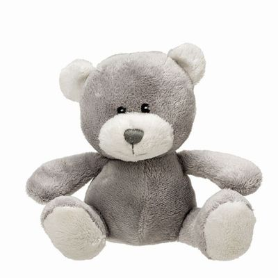 Gorgeous soft silver baby bear by Suki gifts