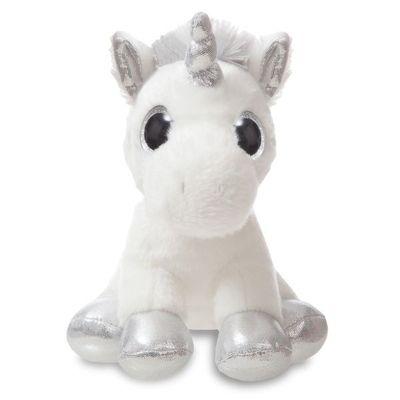 Sparkle Tales Sparkle Unicorn 7 Inch (silver) Soft Toy By Aurora