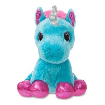 Sparkle Tales Moonbeam Torquoise Unicorn 7 Inch Soft Toy By Aurora