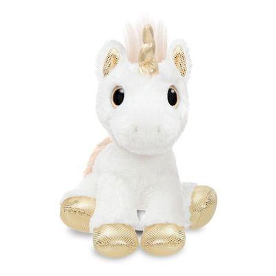 Sparkle Tales Star Unicorn Gold 12 Inch Soft Toy By Aurora
