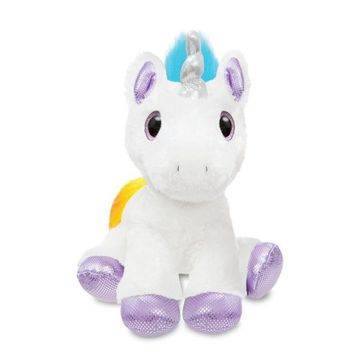 Sparkle Tales Dazzle Unicorn 12 Inch - Multi-coloured Soft Toy By Aurora