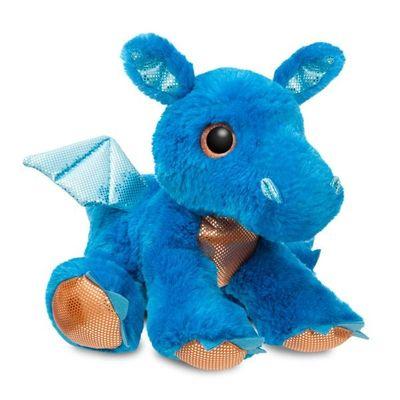 Sparkle Tales Flash Blue Dragon 12 Inch Soft Toy By Aurora