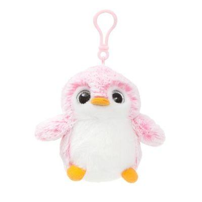 Pom Pom Backpack Clip Pink Soft Toy By Aurora