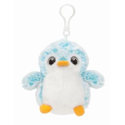 Pom Pom Backpack Clip Blue Soft Toy By Aurora