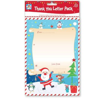 Christmas Activity - Thank You Letter Pack