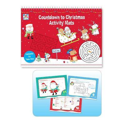 Christmas Activity - Countdown Activity Mats A3