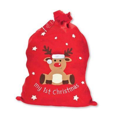 Christmas Sack - Babys 1st Christmas