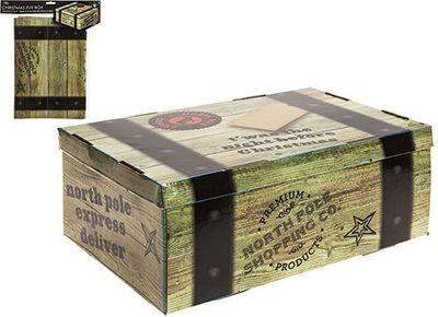 23 X 34 X 12.5cm Flat Pack  Christmas Eve Box