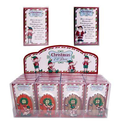 Message To Santa Mini Christmas Elf Door Collectable