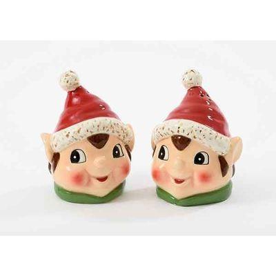 Christmas Elf Cruet Set 9 Cm