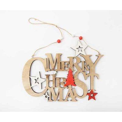 Christmas Merry Christmas Sign 25 Cm