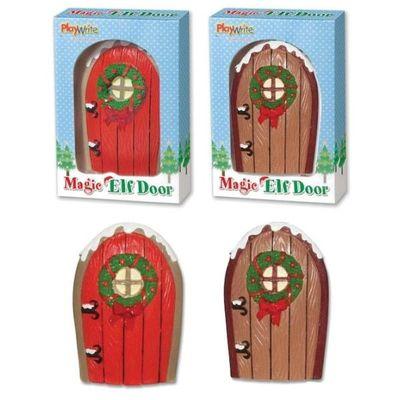 Christmas Magic Elf Door