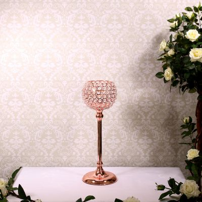 Rose Gold 43cm Globe