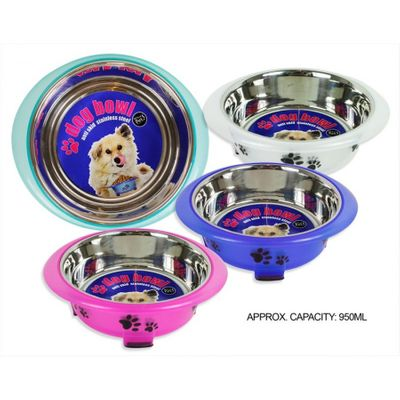 Fusion Coloured Dog Bowl