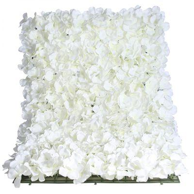 White Hydrangea Flower Wall
