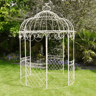Cream Metal Gazebo