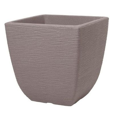 Stewart 38cm Cotswold Planter - Dark Brown