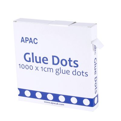 1cm x 1000 Glue Dots on Reel (1/80)
