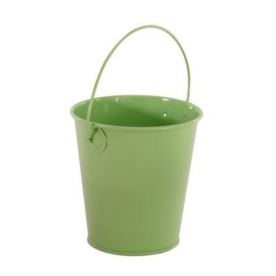 9cm Zinc Drop in Bucket Green  (60)