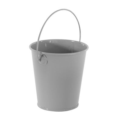 9cm Zinc Drop in Bucket Grey  (60)