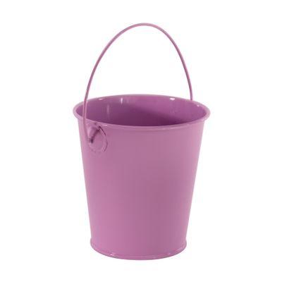 9cm Zinc Drop in Bucket Pastel Lilac  (60)