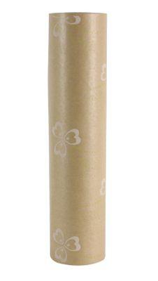 50x125m Nat Kraft Pollyanna Green/White Paper