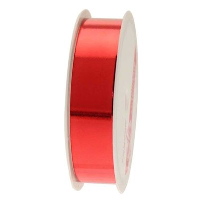 Metallic Red Ribbon (20mm x 4m)