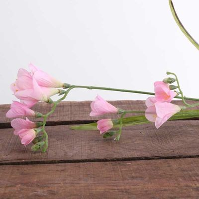 67cm Freesia Spray Pink (24/288)