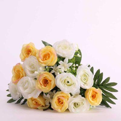 Tropical Rose Bush Yellow (12/96)