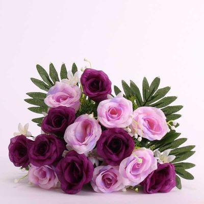 Tropical Rose Bush Purple (12/96)