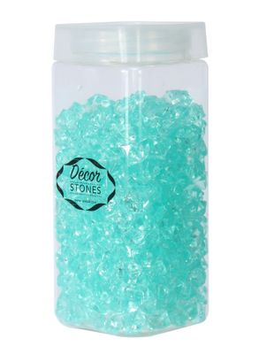 280gr Aqua Small Crystal Stones  in Jar (1/16)
