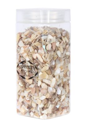 700gr 4-10mm Crushed Pearl Shells  in Jar (1/16)