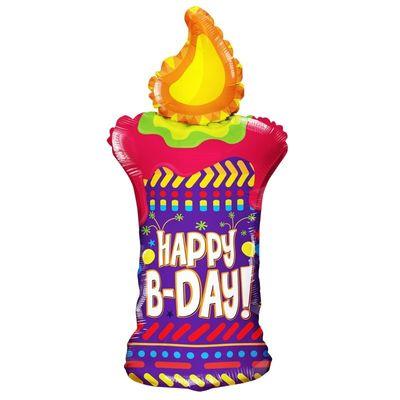 Happy Birthday Candle Balloon (36 inch)