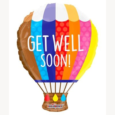 Get Well Hot Air Balloon (18 inch)