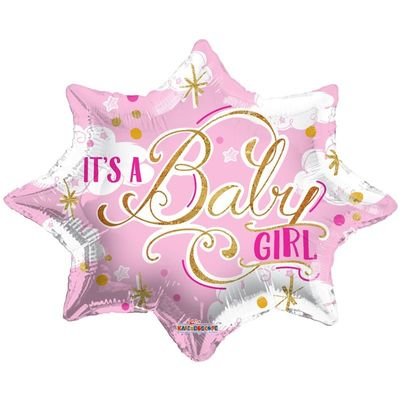 It�s a Baby Girl Balloon (18 inch)